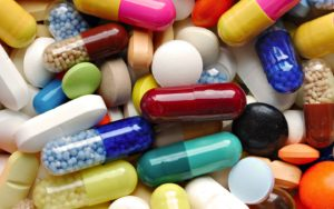 Применяемые антибиотики