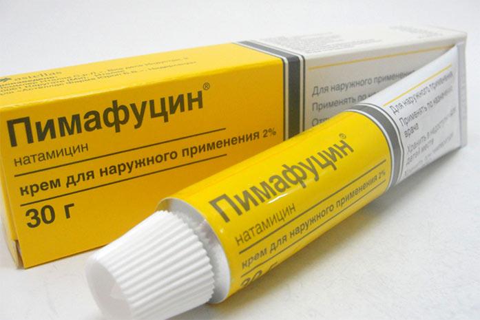 Таблетки от молочницы для мужчин пимафуцин
