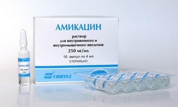 Амикацин: показания к применению препарата и противопоказания