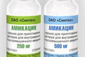 Порошок Амикацин