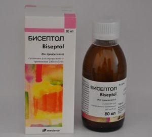 Сироп бисептол